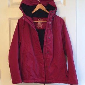 L. L. Bean waterproof Winter Warmer jacket